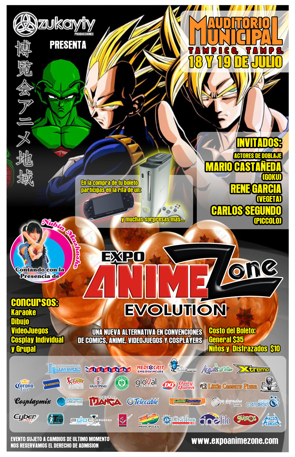 expoanimezone evolution